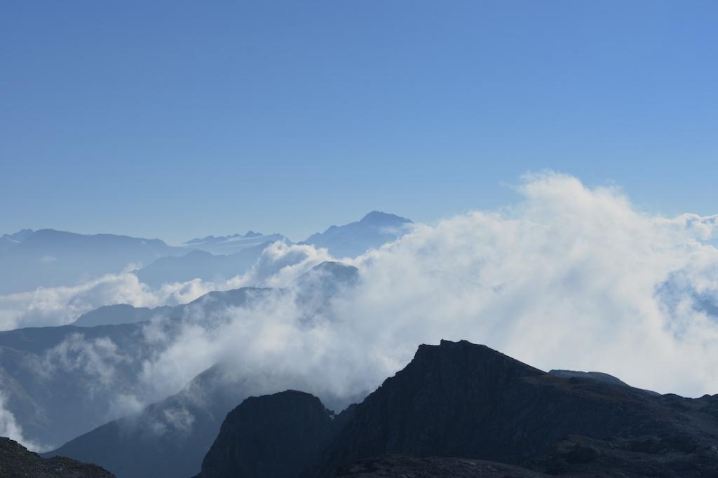 Lais da Rims_Gipfel und Wolkenmeer